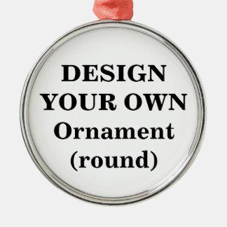 Design Your Own Ornament (premium round)