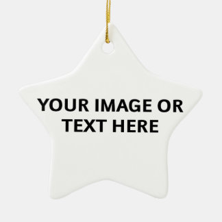 Design Your Own Ornament (Star-Shaped)