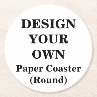 Design Your Own Paper Coaster