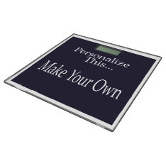 Design Your Own Personalized Bathroom Scale at Zazzle