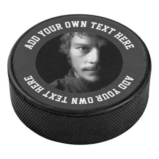 Design Your Own Personalized Custom Hockey Puck