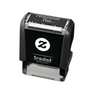 Design your own personalized one of a kind self-inking stamp