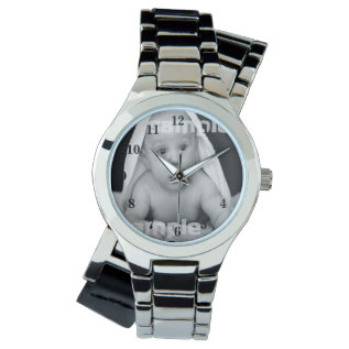 Design Your Own Personalized One Of A Kind Wrist Watch at Zazzle