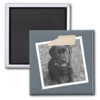 Design Your Own Personalized Photo 2 Inch Square Magnet