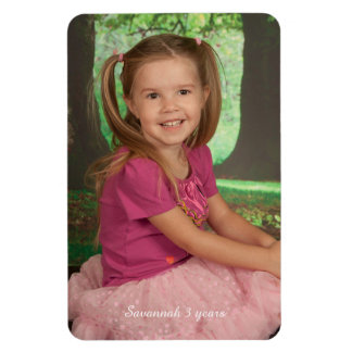 Design Your Own Personalized Photo Magnet Template