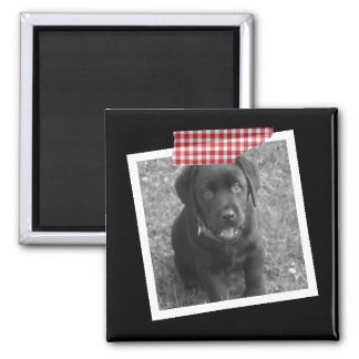 Design Your Own Personalized Tape 2 Inch Square Magnet