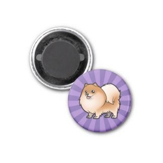 Design Your Own Pet 1 Inch Round Magnet