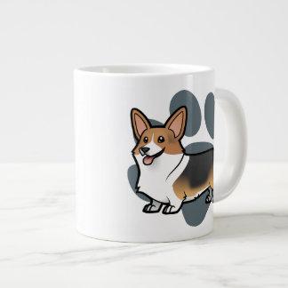Design Your Own Pet 20 Oz Large Ceramic Coffee Mug