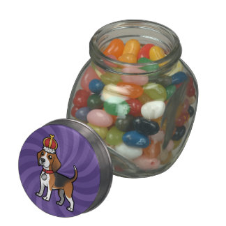 Design Your Own Pet Glass Candy Jars
