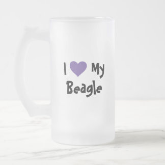 Design Your Own Pet Frosted Glass Beer Mug