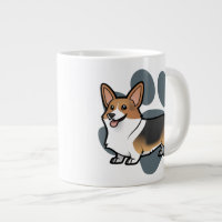 Design Your Own Pet Giant Coffee Mug