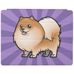 iPad 2/3/4 Cover with Pomeranian Phone Cases design