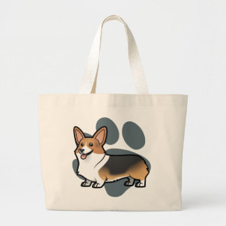Design Your Own Pet Large Tote Bag