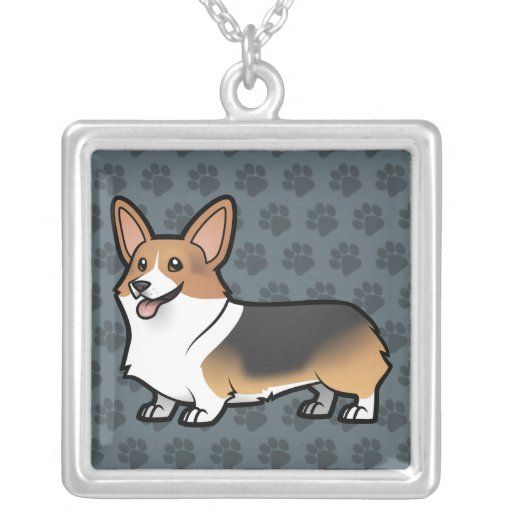 Design your own pet silver plated necklace zazzle