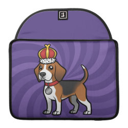 Macbook Pro 13' Flap Sleeve with Beagle Phone Cases design