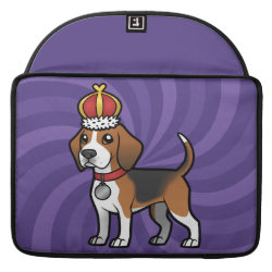 Macbook Pro 15' Flap Sleeve with Beagle Phone Cases design