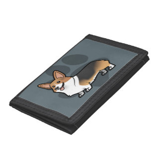 Design Your Own Pet Tri-fold Wallets