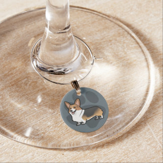Design Your Own Pet Wine Glass Charm