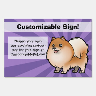 Design Your Own Pet Yard Signs