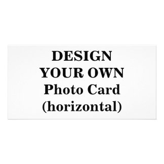Design Your Own Photo Card (horizontal)