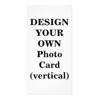 Design Your Own Photo Card (vertical)