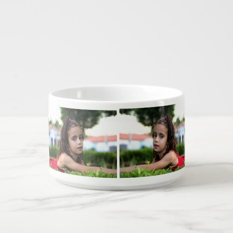Design Your Own Photo Collage Chili Bowl