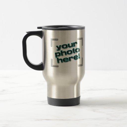 Design Your Own Photo Or Logo Travel Coffee Mug Zazzle