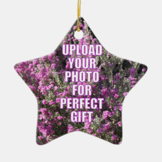Design Your Own Photo Product Personalized Present Ceramic Ornament
