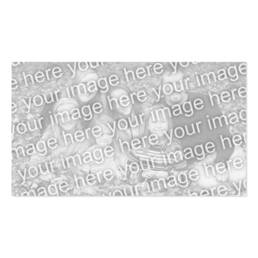 design your own : plain black and white. business card templates (back side)