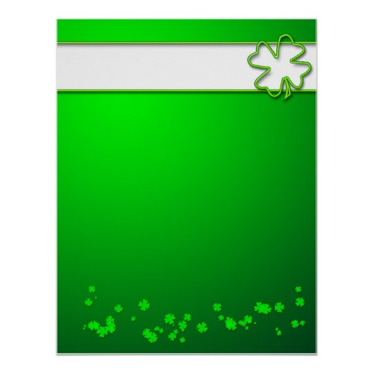 Design Your Own Poster - St. Patricks Day