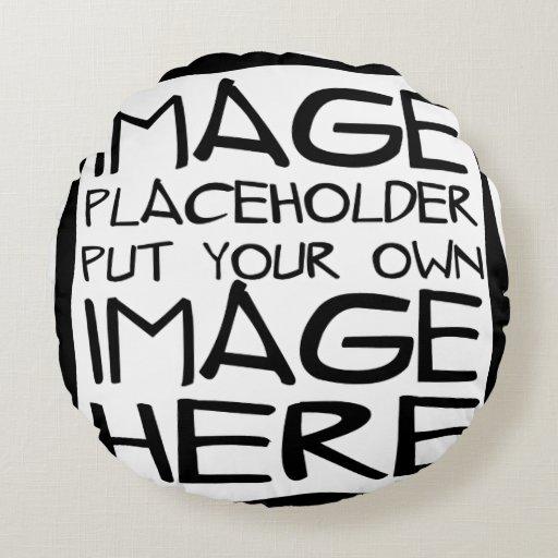 Design Your Own Round Pillow Zazzle