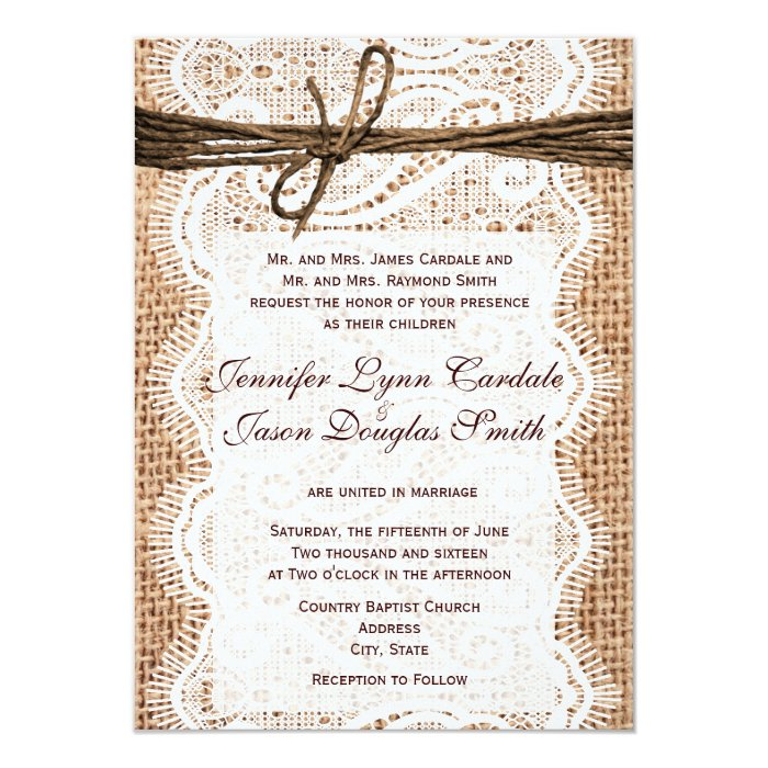 Wedding Invitations Make Your Own: Design Your Own Rustic Country Wedding Invitations