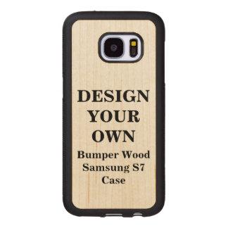 Design Your Own Samsung S7 Bumper Wood Case