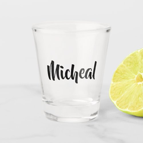 Design Your Own Shot Glass
