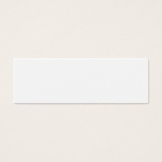 Design your own-skinny mini business card