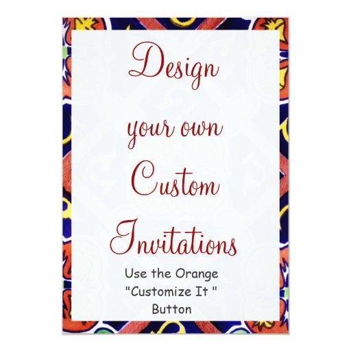 design your own southwestern invitations templates zazzle. Black Bedroom Furniture Sets. Home Design Ideas