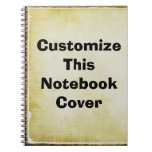 Design Your Own Spiral Note Books
