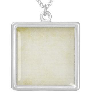 Design Your Own Square Pendant Necklace