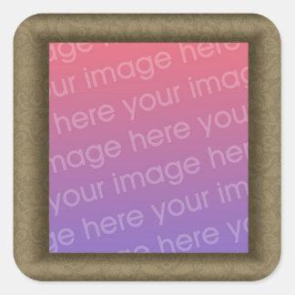 Design Your Own Square Sticker