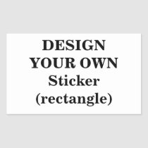 create, your, own, sticker, rectangle, make, design, template, Sticker with custom graphic design