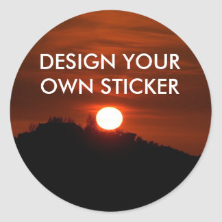 DESIGN YOUR OWN STICKERS Sticker