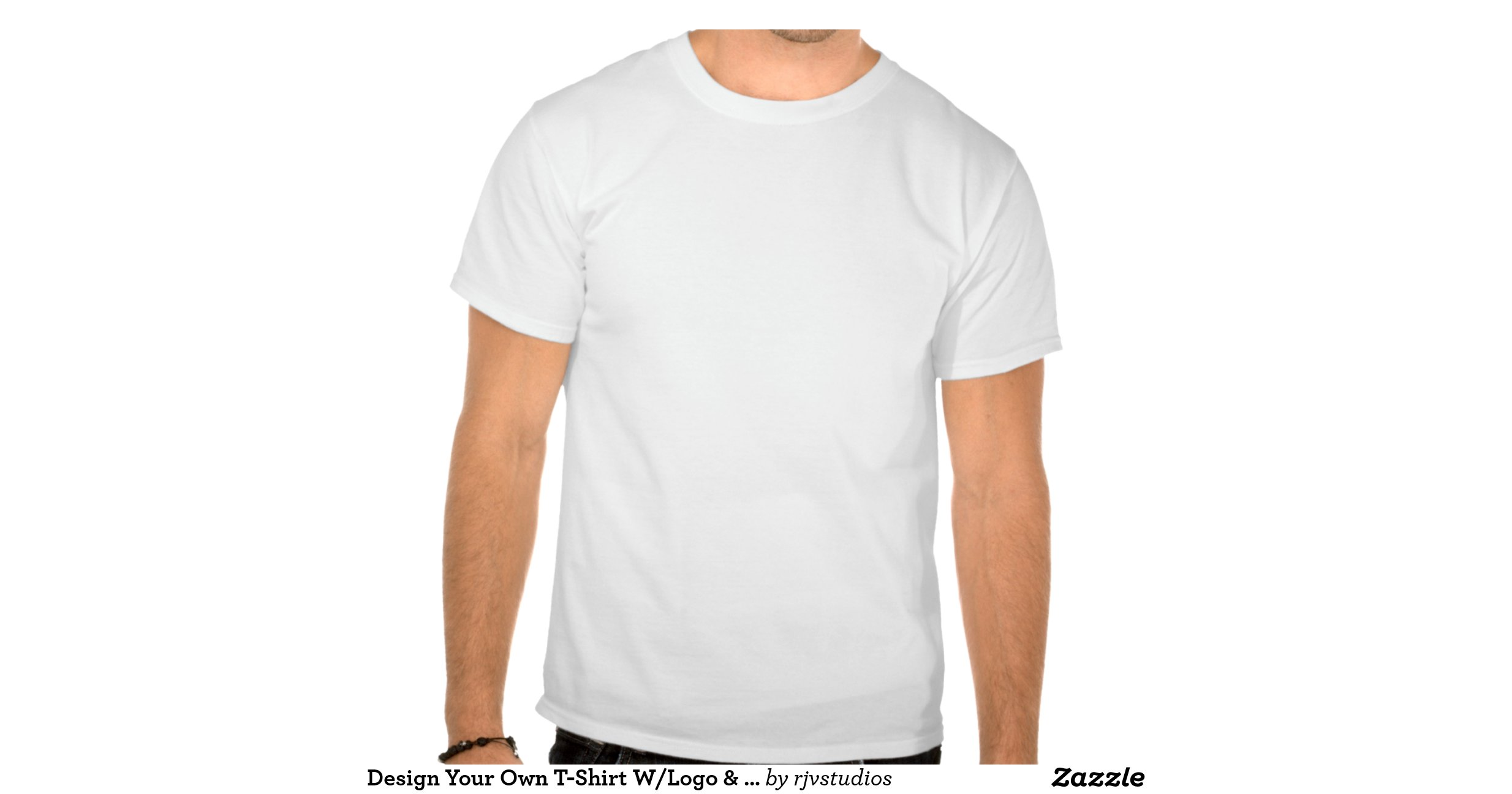Design your own t shirt w logo front back text for T shirts with your own logo