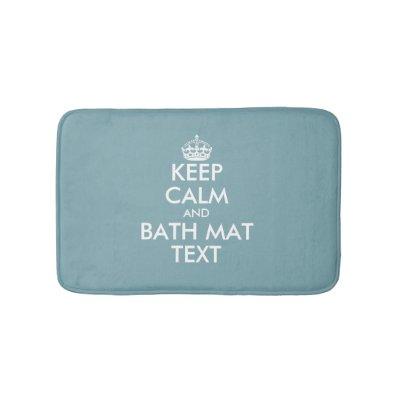 Create Your Own Bath Mat Zazzlecom