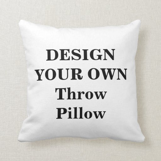 Design Your Own Throw Pillow