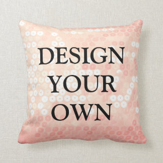 design my own pillows decorative throw pillows zazzle. Black Bedroom Furniture Sets. Home Design Ideas