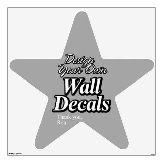 Design Your Own Wall Decals