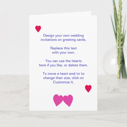 Make Your Own Wedding Invitations Ideas: Design Your Own Wedding Invitations On Cards