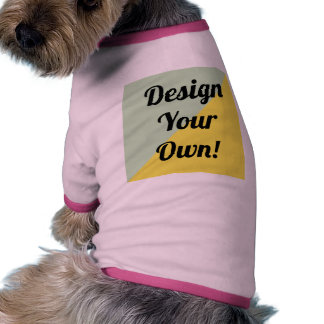 Design Your Personalise Gift Doggie T-shirt