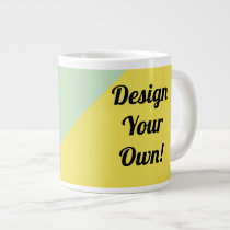 Design Your Personalise Gift Giant Coffee Mug