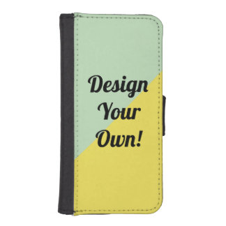 Design Your Personalise Gift iPhone SE/5/5s Wallet